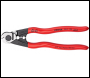 DRAPER Knipex 190mm Forged Wire Rope Cutters - Pack Qty 1 - Code: 03047