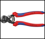 DRAPER Knipex 160mm Wire Rope Cutters with Heavy Duty Handles - Pack Qty 1 - Code: 04598