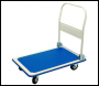 DRAPER 300kg Platform Trolley with Folding Handle - 900 x 600 x 850mm - Pack Qty 1 - Code: 04692