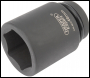 DRAPER Expert 46mm 1 inch  Square Drive Hi-Torq® 6 Point Deep Impact Socket - Pack Qty 1 - Code: 05154