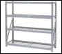DRAPER Expert Heavy Duty Steel 4 Shelving Unit - 1959 x 610 x 1830mm - Pack Qty 1 - Code: 05227