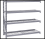 DRAPER Expert Heavy Duty Steel 4 Shelving Extension Unit - 1959 x 610 x 1830mm - Pack Qty 1 - Code: 05229