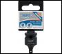 DRAPER Expert 3/8 inch (F) x 1/4 inch (M) Impact Socket Converter - Pack Qty 1 - Code: 07022