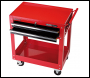 DRAPER Expert 2 Level Tool Trolley with Two Drawers - Pack Qty 1 - Code: 07635