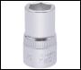DRAPER 14mm 1/2 inch  Square Drive Elora Hexagon Socket - Pack Qty 1 - Code: 15303