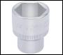 DRAPER 28mm 1/2 inch  Square Drive Elora Hexagon Socket - Pack Qty 1 - Code: 15317