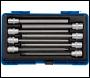 DRAPER 3/8 inch  Sq. Dr. Hexagonal Socket Bit Set (8 piece) - Pack Qty 1 - Code: 16287