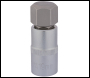 DRAPER 1/2 inch  Sq. Dr. Hexagonal Socket Bits (19mm) - Pack Qty 1 - Code: 16305