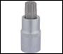 DRAPER T60 x 55mm 1/2 inch  Square Drive Draper TX-STAR® Socket Bit - Pack Qty 1 - Code: 16323