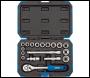 DRAPER 3/8 inch  Sq. Dr. Metric Socket Set (18 Piece) - Pack Qty 1 - Code: 16359