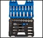 DRAPER 3/8 inch  Sq. Dr. Metric Socket Set (42 Piece) - Pack Qty 1 - Code: 16451
