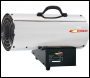 DRAPER Jet Force, Stainless Steel Propane Space Heater (85,000 BTU/25kW) - Pack Qty 1 - Code: 17684