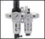 DRAPER 1/4 inch  BSP Combined Filter/Regulator/Lubricator Unit (FRL) - Pack Qty 1 - Code: 24326