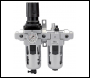 DRAPER 1/2 inch  BSP Combined Filter/Regulator/Lubricator - Pack Qty 1 - Code: 24333