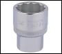 DRAPER 25mm 1/2 inch  Square Drive Elora Bi-Hexagon Socket - Pack Qty 1 - Code: 24707