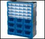 DRAPER 30 Drawer 9 Bin Organiser - Pack Qty 1 - Code: 31232