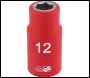 DRAPER 1/2 inch  Sq. Dr. Fully Insulated VDE Socket (12mm) - Code: 31785