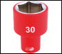 DRAPER 1/2 inch  Sq. Dr. Fully Insulated VDE Socket (30mm) - Pack Qty 1 - Code: 32000