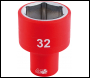 DRAPER 1/2 inch  Sq. Dr. Fully Insulated VDE Socket (32mm) - Code: 32017
