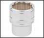 DRAPER 1/2 inch  Square Drive Hi-Torq® 12 Point Socket (23mm) - Pack Qty 1 - Code: 33370