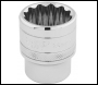 DRAPER 1/2 inch  Square Drive Hi-Torq® 12 Point Socket (26mm) - Pack Qty 1 - Code: 33441