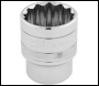 DRAPER 1/2 inch  Square Drive Hi-Torq® 12 Point Socket (27mm) - Code: 33442