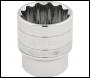DRAPER 1/2 inch  Square Drive Hi-Torq® 12 Point Socket (30mm) - Pack Qty 1 - Code: 33586
