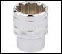 DRAPER 1/2 inch  Square Drive Hi-Torq® 12 Point Socket (1.1/16 inch ) - Pack Qty 1 - Code: 33726