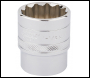 DRAPER 1/2 inch  Square Drive Hi-Torq® 12 Point Socket (1.1/8 inch ) - Pack Qty 1 - Code: 33727