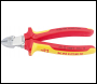 DRAPER Knipex VDE Fully Insulated Diagonal Wire Strippers and Cutters - Pack Qty 1 - Code: 34055