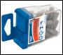 DRAPER No.2 PZ TYPE 1/4 inch  Insert Bits in Plastic Storage Case (20 PIECE) - Code: 34220