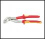 DRAPER Knipex 250mm VDE Cobra® Chrome Waterpump Pliers - Pack Qty 1 - Code: 34672