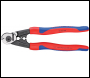 DRAPER Knipex 190mm Forged Wire Rope Cutters with Heavy Duty Handles - Pack Qty 1 - Code: 36142