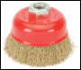 DRAPER 60mm x M14 Crimped Wire Cup Brush - Pack Qty 1 - Code: 41443