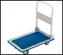 DRAPER 150kg Platform Trolley with Folding Handle - 630 x 480 x 850mm - Pack Qty 1 - Code: 44005