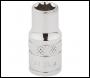 DRAPER 1/4 inch  Square Drive Hi-Torq® 6 Point Socket (1/4 inch ) - Pack Qty 1 - Code: 48444