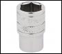 DRAPER 1/4 inch  Square Drive Hi-Torq® 6 Point Socket (7/16 inch ) - Pack Qty 1 - Code: 48942