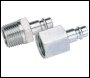 DRAPER 1/2 inch  BSP Male Nut PCL Euro Coupling Adaptor (Sold Loose) - Pack Qty 1 - Code: 54417