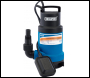 DRAPER 166L/Min Submersible Dirty Water Pump with Float Switch (550W) - Pack Qty 1 - Code: 61621
