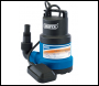 DRAPER 125L/Min Submersible Water Pump with Float Switch (350W) - Pack Qty 1 - Code: 61668