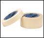 DRAPER 50M x 25mm Masking Tape Roll - Pack Qty 1 - Code: 63481