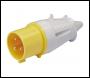 DRAPER 110V Site Plug (32A) - Pack Qty 1 - Code: 63675