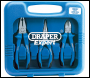 DRAPER Heavy Duty Soft Grip Pliers Set (3 Piece) - Pack Qty 1 - Code: 69289