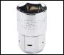 DRAPER Expert 12mm 6 Point 20mm Drive Vortex Socket - Pack Qty 1 - Code: 78886
