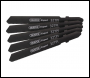 DRAPER DT118G 92mm Jigsaw Blade Set (5 Piece) - Pack Qty 1 - Code: 81731