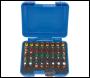 DRAPER Coloured Screwdriver Bit Set (40 piece) - Pack Qty 1 - Code: 82404