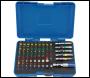 DRAPER Coloured Screwdriver Bit Set (60 piece) - Pack Qty 1 - Code: 82405