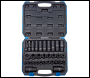 DRAPER 3/8 inch  and 1/2 inch  Sq. Dr. Impact Socket Set (32 Piece) - Pack Qty 1 - Code: 83098