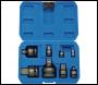 DRAPER Impact Socket Adaptor Set (8 Piece) - Pack Qty 1 - Code: 83271