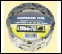 Everbuild Aluminium Tape - Silver - 100mm X 45mtr - Box Of 12